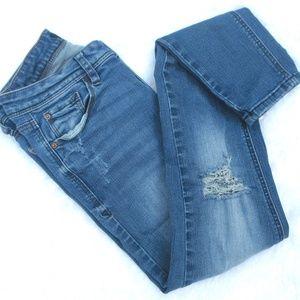 Kensie Distressed Skinny Jeans